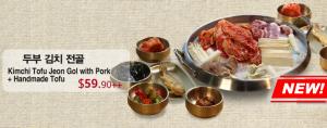 1. Kimchi Tofu